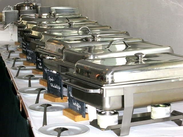 Full Pan Catering Menu